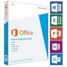 Офис Microsoft Office Home and business 2013 РУС