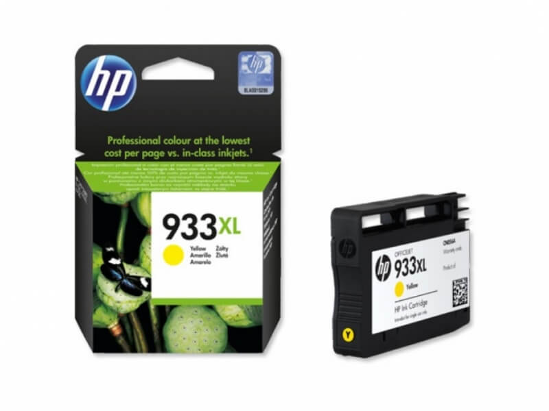Картридж HP CN056AE Yellow №933XL для HP OfficeJet 7110/6100